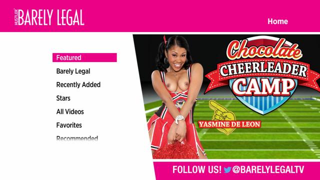 Barely Legal Roku channel screenshot